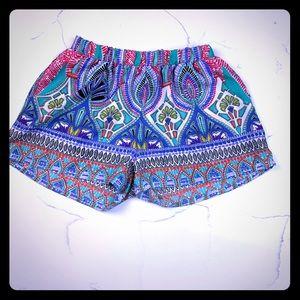 Cute Summer Boho Shorts w Pockets